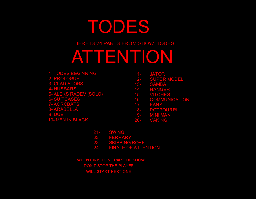 TODES 3